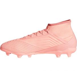 Chuteiras de futebol adidas Predator 18.2 FG M DB1998 -de-rosa 1