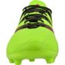 Sapatos de futebol adidas Ace 16.3 FG / AG M Couro AF5162 verde verde 2