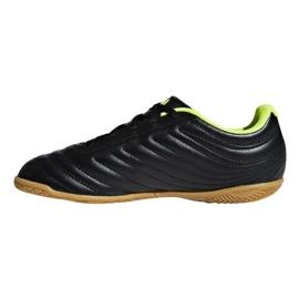 Sapatos de interior adidas Copa 19.4 In Jr D98095 preto preto 1
