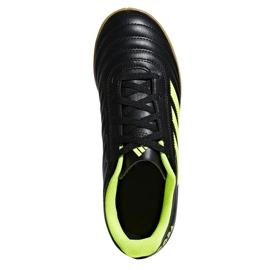 Sapatos de interior adidas Copa 19.4 In Jr D98095 preto preto 2