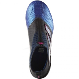 Sapatas de futebol Adidas Ace 17 + Purecontrol Fg Jr BA9819 preto preto 1