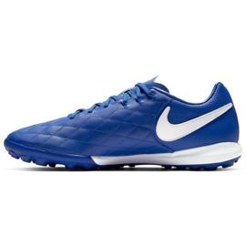 Sapatos de futebol Nike Tiempo Lunar LegendX 7 Pro 10R Tf M AQ2212-410 azul azul 1