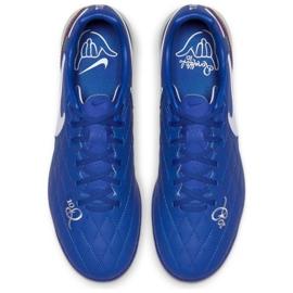 Sapatos de futebol Nike Tiempo Lunar LegendX 7 Pro 10R Tf M AQ2212-410 azul azul 2