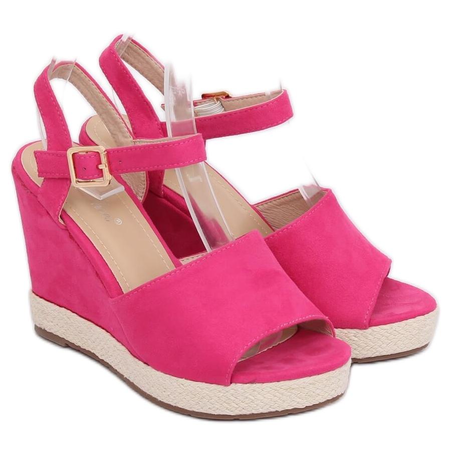Fuchsia High Heel Sandal   sapato salto   Sandálias de salto
