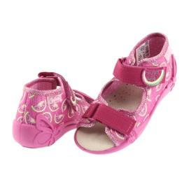 Calçado infantil amarelo Befado 342P004 -de-rosa 5