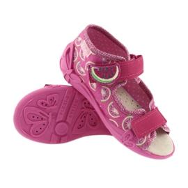 Calçado infantil amarelo Befado 342P004 -de-rosa 4