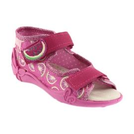 Calçado infantil amarelo Befado 342P004 -de-rosa 2