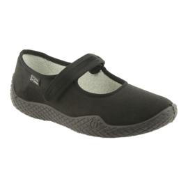 Sapatos femininos Befado pu - jovens 197D002 preto 2