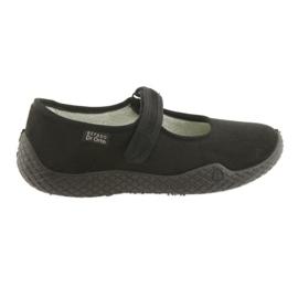 Sapatos femininos Befado pu - jovens 197D002 preto 1