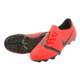 Nike Phantom Venom Clube Fg Jr AO0396-600 sapatos de futebol vermelho 5