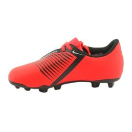 Nike Phantom Venom Clube Fg Jr AO0396-600 sapatos de futebol vermelho 2