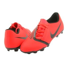 Nike Phantom Venom Clube Fg Jr AO0396-600 sapatos de futebol vermelho 4