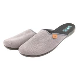 Chinelos Adanex chinelos masculinos cinza 3
