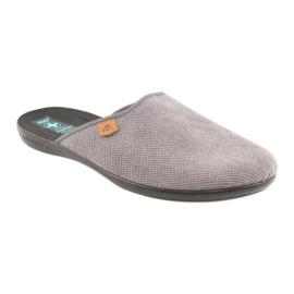 Chinelos Adanex chinelos masculinos cinza 1