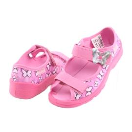 Sapatos infantis Befado 969X134 -de-rosa 5
