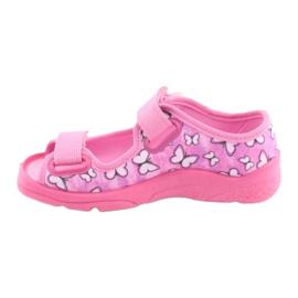 Sapatos infantis Befado 969X134 -de-rosa 3