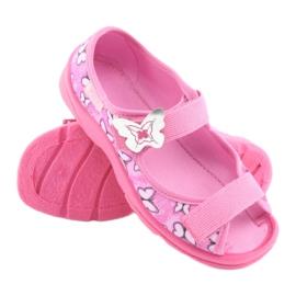 Sapatos infantis Befado 969X134 -de-rosa 4