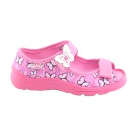 Sapatos infantis Befado 969X134 -de-rosa 1