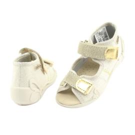 Calçado infantil amarelo Befado 342P003 4