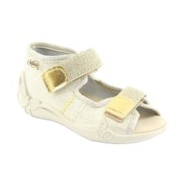 Calçado infantil amarelo Befado 342P003 1