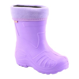 Sapatos infantis Befado galosh-violeta 162P102 roxo 2