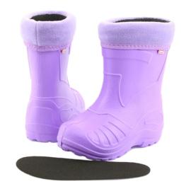 Sapatos infantis Befado galosh-violeta 162P102 roxo 5
