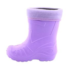 Botas de chuva roxa infantil Befado 162X102 tolet 2