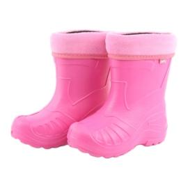 Sapatos infantis Befado rosa galocha 162Y101 4