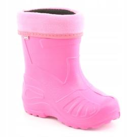 Sapatos infantis Befado rosa galocha 162Y101 2