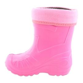 Sapatos infantis Befado rosa galocha 162Y101 3