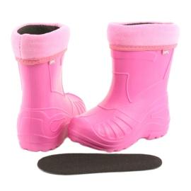 Sapatos infantis Befado rosa galocha 162Y101 5