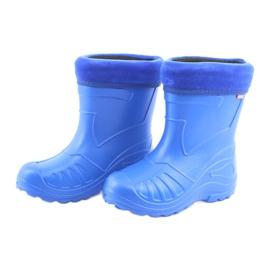 Botas de chuva infantil Befado 162x106 azul 3