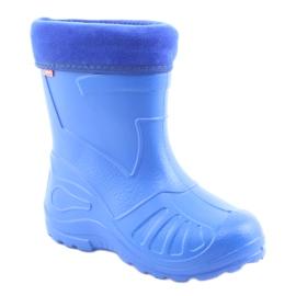 Botas de chuva infantil Befado 162x106 azul 1