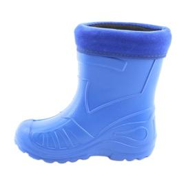 Botas de chuva infantil Befado 162x106 azul 2