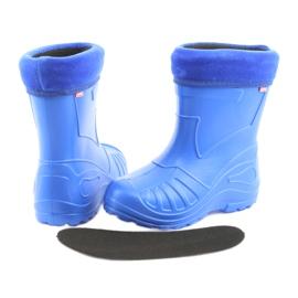 Botas de chuva infantil Befado 162x106 azul 4
