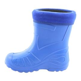 Calçados infantis Befado galocha-centáurea 162Y106 azul 3