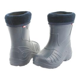 Calçado infantil Befado galochas azul marinho 162y103 4