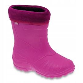 Sapatos infantis Befado rosa galocha 162Y101 1