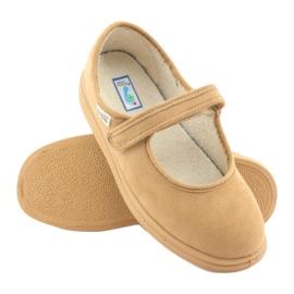 Sapatos femininos Befado pu 462D003 marrom 6