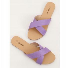 Chinelos femininos violeta 930 roxo tolet 3