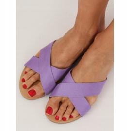 Chinelos femininos violeta 930 roxo tolet 1