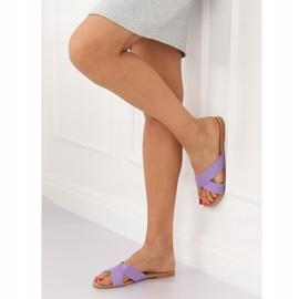 Chinelos femininos violeta 930 roxo tolet 2