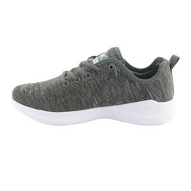 Sapatas do Esporte DK Grey SC235 cinza 2
