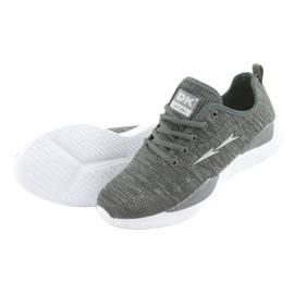 Sapatas do Esporte DK Grey SC235 cinza 4