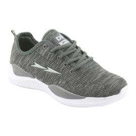 Sapatas do Esporte DK Grey SC235 cinza 1