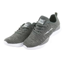 Sapatas do Esporte DK Grey SC235 cinza 3
