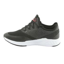 Calçado desportivo para homem DK 18470 preto / cinzento 2