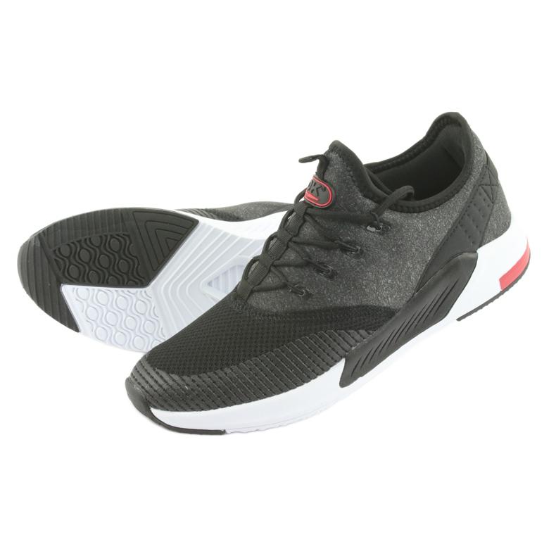 Calçado desportivo para homem DK 18470 preto / cinzento retrato 4