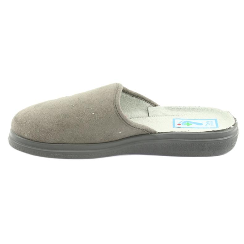 Cinza Sapatos femininos Befado pu 132D013 retrato 2