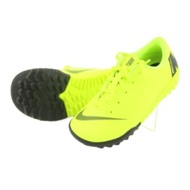Botas de futebol Nike Mercurial VaporX 12 Academy Tf Jr AH7353-701 amarelo 5